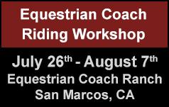 Equestrian Coach Workshop