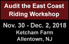 Audit the East Coast Riding Workshop